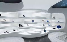 Shoebaloo store in Amsterdam by MVSA Architects