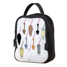 Rat Pack Neoprene Lunch Bag