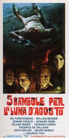 5 bambole per la luna d'agosto (5 Dolls for an August Moon), 1970 - Italian poster