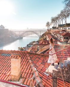 Finding beauty in ✨ ~ As I've visited Porto multiple times, this time my goal was to find its hidden gems - and I think I succeeded… Best Places In Portugal, Places To Travel, Places To Go, Porto City, Portugal Travel, Am Meer, Photo Location, Travel Abroad, Travel Tips