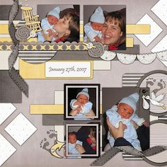 Kit: Expecting by Scraps N Pieces Template: Pack 30 by AKDesigns
