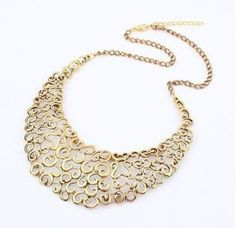 Lemon Value Statement Maxi Choker Vintage Punk Collar Boho Gold Color Colares Carved Hollow Necklace Women Jewelry Collier Pendant Jewelry, Beaded Jewelry, Jewelry Necklaces, Pendant Necklace, Statement Necklaces, Baroque, Fashion Necklace, Fashion Jewelry, Fashion Accessories