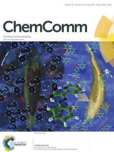 My image on the front cover of ChemComm!!!