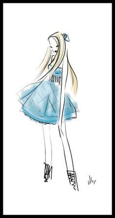 .:girl in blue:. by ~StillesWasser