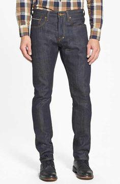 PRPS 'Demon' Slim Straight Leg Selvedge Jeans (Raw)