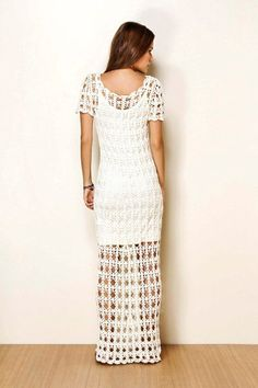 CROCHET FASHION TRENDS exclusive white crochet by LecrochetArt