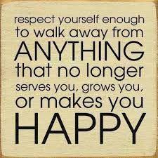 recepteer je zelf genoeg en loop weg dat niet langer interesseert of die gene bij jou geen intresse toon geef dat een plekje en ga verder en je vind mensen op je pad waar je weer van ga groeien en daar wordt je gelukkig van