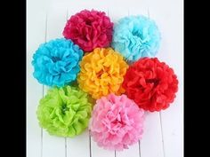 21 Colours Paper Pompoms Brand-new Paper Pompoms Pre- assembled Paper Pompoms Tissue Flowers, Tissue Paper Flowers, Diy Flowers, Spring Flowers, Paper Party Decorations, Diy Birthday Decorations, Wedding Flower Decorations, Hanging Decorations, Tissue Paper Pom Poms Diy
