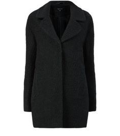 duffle coat bleu marinepeau de mouton