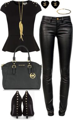 21+Sexy+Leather+Looks+(for+Winter)