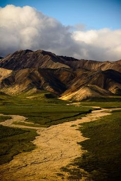 Denali River, Alaska by Zero Photography