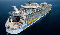 Harmony of the Seas estreia-se em cruzeiros nas Caraíbas