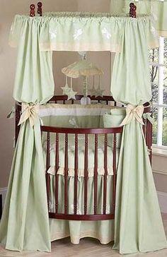 Love this round crib!