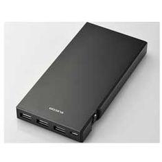 【送料無料】【メール便発送】エレコムDE-M01L-9045BK [ブラック] モバイルバッテリー JAN末番453289