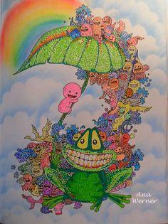 Doodle A Invasao DoodleInvasion DoodleAInvasao Livrosdecolorirantiestresse Livrosdecolorir KerbyRosanes Adultcolouringbook ColoringColoring