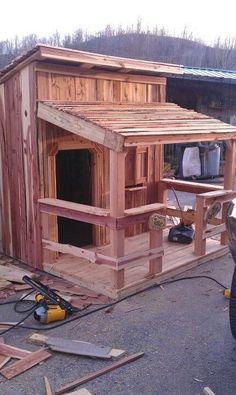 Saloon style playhouse:-)