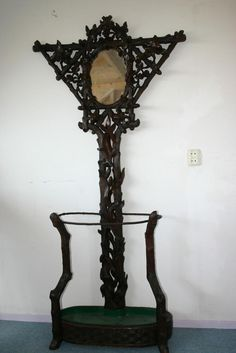 1000 Images About Antique Hall Tree Benches On Pinterest