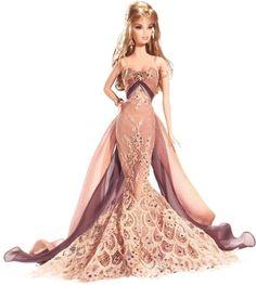 Barbie Collector Direct Exclusive - 2007 GOLD Label - CHRISTABELLE Doll: Amazon.fr: Jeux et Jouets