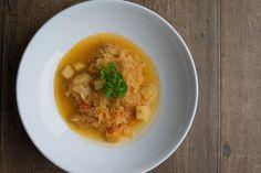 Elsässische Sauerkrautsuppe