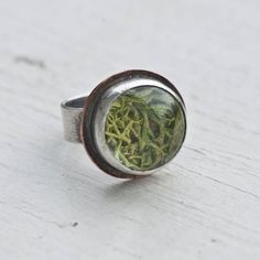 Sterling Moss Terrarium Ring.  Interesting, I like this style also
