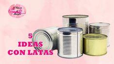 5 DIY de reciclaje de latas