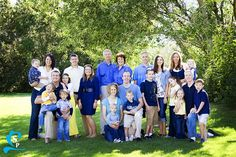 Beautiful Summer Day + Beautiful Family = Some really fun Family Pictures! We had a great time getting to know this family a little better as we took their family pictures. They all had great smi…