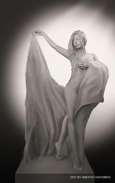 https://flic.kr/p/K3WdTM | statue edit | photo by John Tsilidis model Tanit Isis