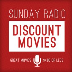 Each week Celebration Cinema shows a movie for $4 or less at select locations in Grand Rapids. Get your local showtimes and check back weekly at: https://celebrationcinema.com/sundayradiodiscounts