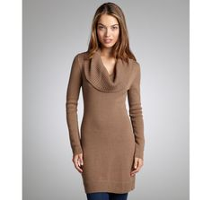 cowl neck sweater tunic 2
