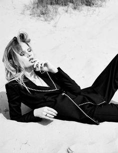visual optimism; fashion editorials, shows, campaigns & more!: film noir: steffi soede by karen rosetzsky for l'officiel nl october/november 2014