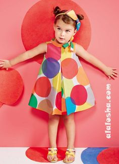 ALALOSHA: VOGUE ENFANTS: Collezione Simonetta Toddler SS14