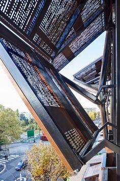 Conservatorio de Música / Basalt Architecture / París, Francia.