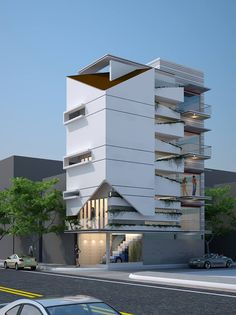 NHÀ PHỐ Commercial Building Plans, Hotel Architecture, Front Elevation, Modern Exterior, Window Design, Commercial Design, Modern House Design, Facades, Cubes