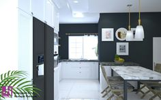 The inspiration of the cleanest kitchen