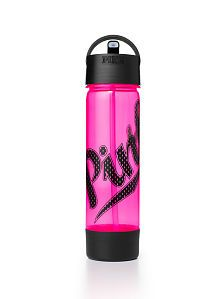 Water Bottle - PINK - Victoria's Secret from Victoria's Secret. Pink Water Bottle, Water Bottles, Starbucks Water Bottle, Pineapple Keychain, Pink Perfume, Pink Accessories, Pink Nation, Pink Dog, Pink Brand