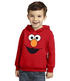 Sesame Street Elmo Face Toddler Hoodie2T ** Check out the image by visiting the link.Note:It is affiliate link to Amazon.