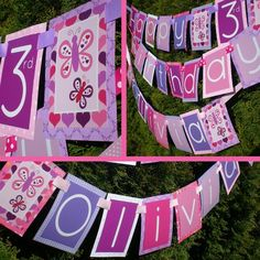 Butterfly Birthday Party Decorations Package by PartyOnPurposeShop