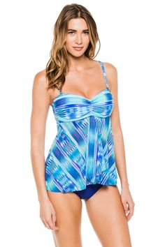 77acec07192cd Profile by Gottex s Oceana Bandeau Tankini Top