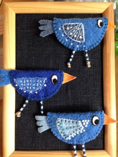 Make Do And Mend, How To Make, Textiles, Girl Guides, Easter Crafts, Sunglasses Case, Diy And Crafts, Butterfly, Birds