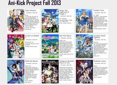 Ani-Kick Fall 2013