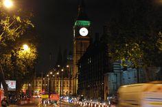 Elizabeth Tower mit Big Ben at Night