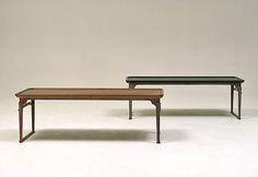 가구디자이너 하지훈 | ban alu Life Design, Furniture Design, Furniture Ideas, Dining Bench, Oriental, Woodworking, Traditional, Korean, Table