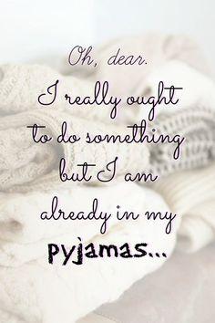 Pyjama-love!