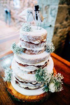 Dreamy & Stylish Barn Wedding