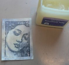 Creative Expressions: Book Study - Petroleum Jelly (and other techniques)
