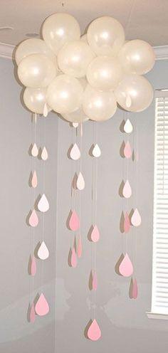 DIY Baby Shower Balloon Idea | Pretty My Party