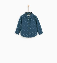 ZARA - KIDS - SLOGAN PRINT SHIRT