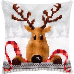Vervaco-Cushion Cross Stitch Kit. Vervaco is internationally renowned as a leading manufacturer of high quality needlework kits. They have a complete range of k