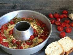 Überbackener Schafskäse mit Tomaten › 4 Reifen und 1 Klo