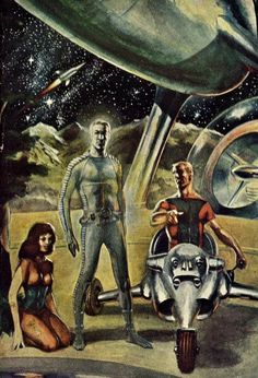 Wally Wood - Address Centauri, 1957.